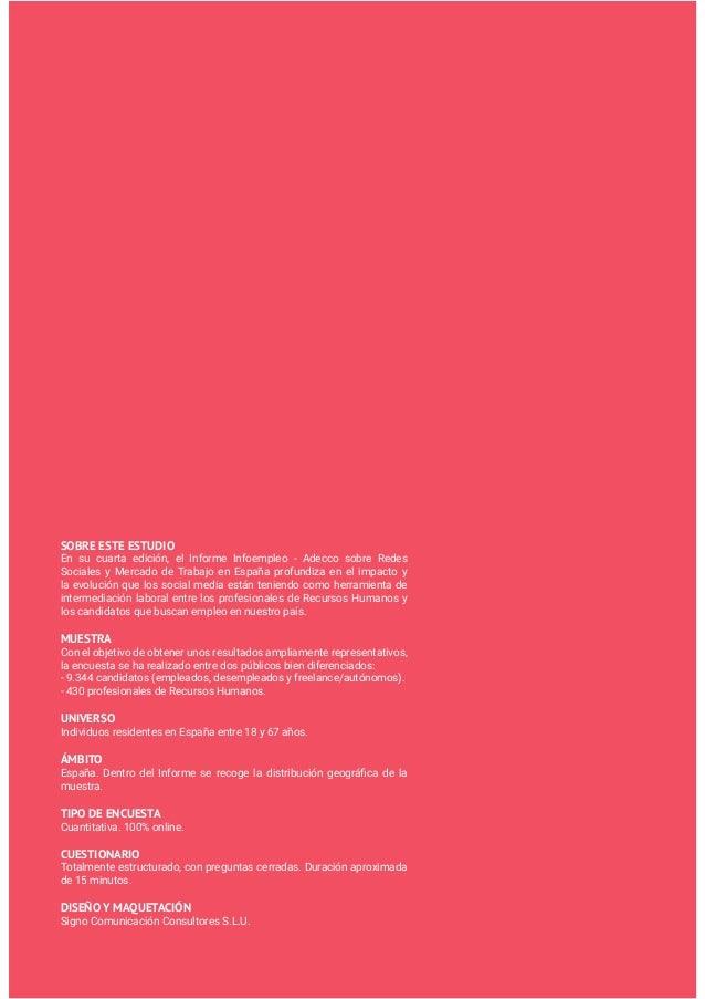 Informe empleo y redes 2015 por Infoempleo y Adecco Slide 3