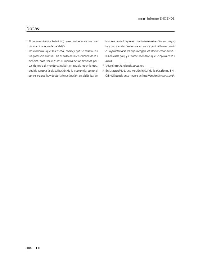 Informe enciende