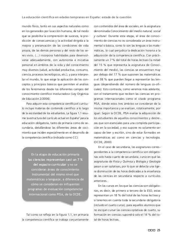 Informe ENCIENDE 28 cual se detecta un bajo número de actividades que impliquen algún tipo de material de laboratorio, ya ...