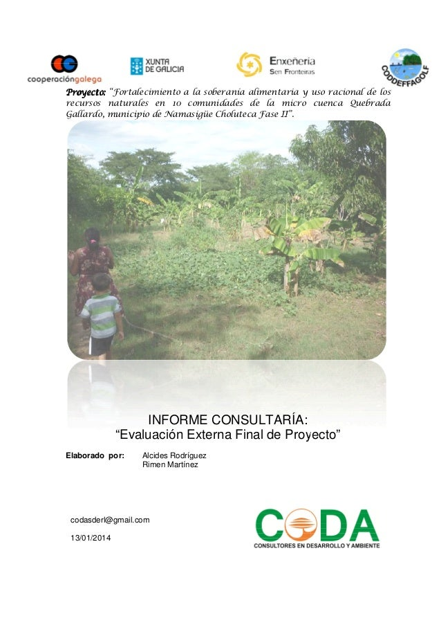 """Proyecto:Proyecto:Proyecto:Proyecto: """"Fortalecimiento a la soberanía alimentaria y uso racional de los recursos naturales ..."""
