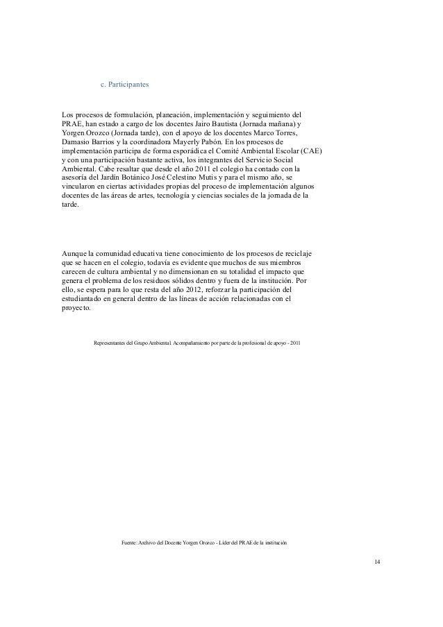 """""""Reconocimiento de las situaciones ambientales de mi entorno"""" (Anexo 2), algunos  ejercicios de cartografía social y la co..."""