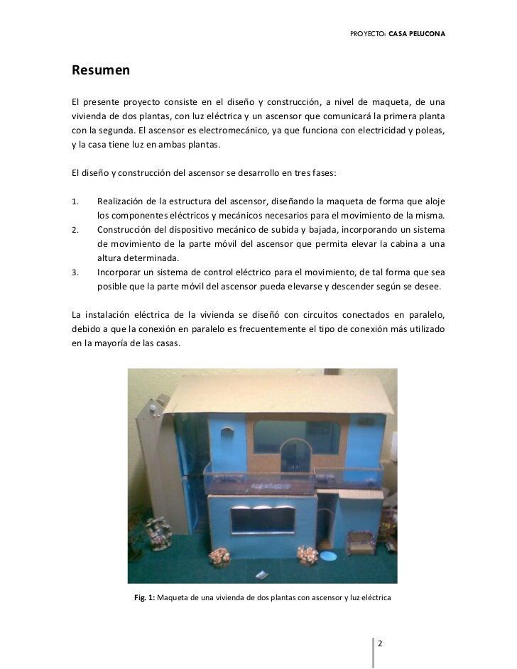 Proyecto ascensor - Proyectos para construir una casa ...