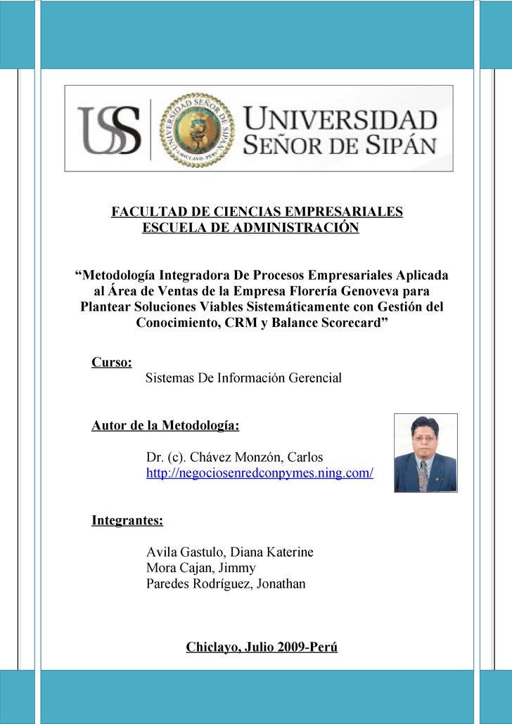 """FACEM ESCUELA DE ADMINISTRACION             FACULTAD DE CIENCIAS EMPRESARIALES            ESCUELA DE ADMINISTRACIÓN   """"Met..."""