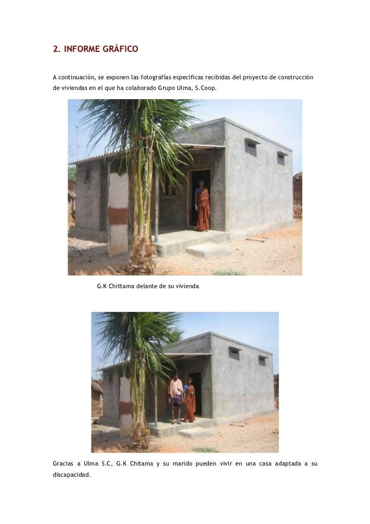 Informe final 2005 proyecto de construcci n de viviendas - Proyectos de construccion de casas ...