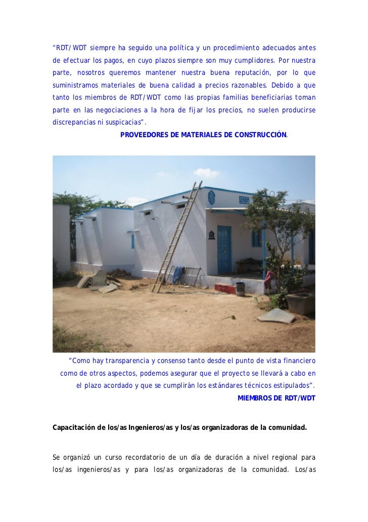 Informe final 2007 proyecto de construcci n de viviendas - Proyectos de construccion de casas ...