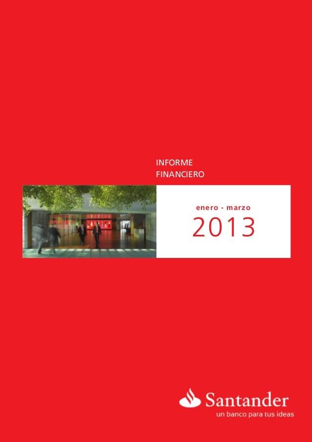 INFORMEFINANCIEROenero - marzo2013