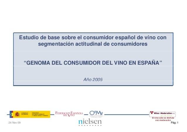 Estudio d b       E t di de base sobre el consumidor español de vino con                        b    l         id      ñ l...