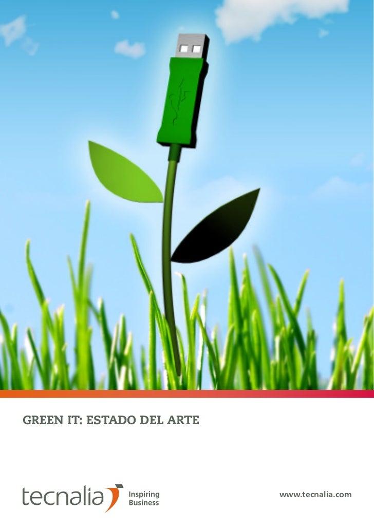 1GREEN IT: ESTADO DEL ARTE                                  www.tecnalia.com                            GREEN IT: ESTADO D...