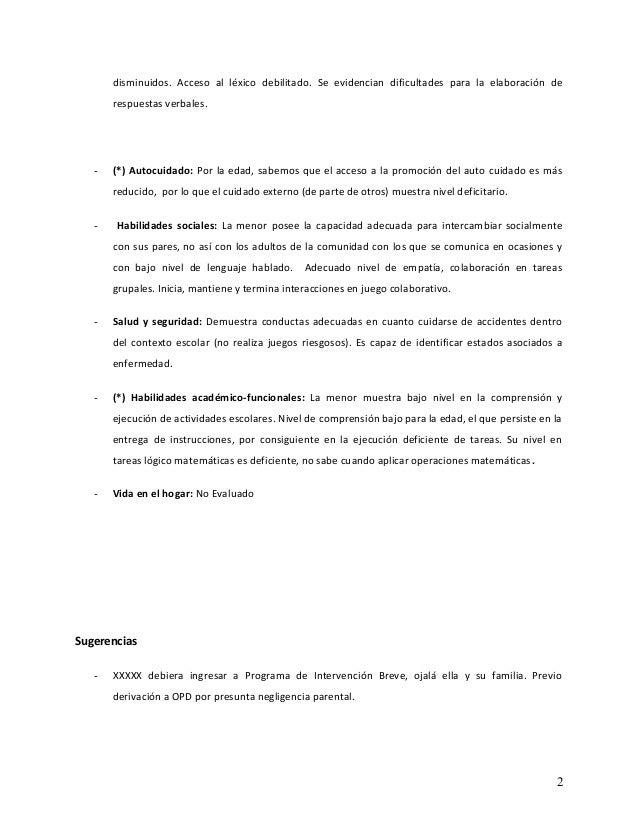 Informe habilidades adaptativas (modelo) (1) Slide 2