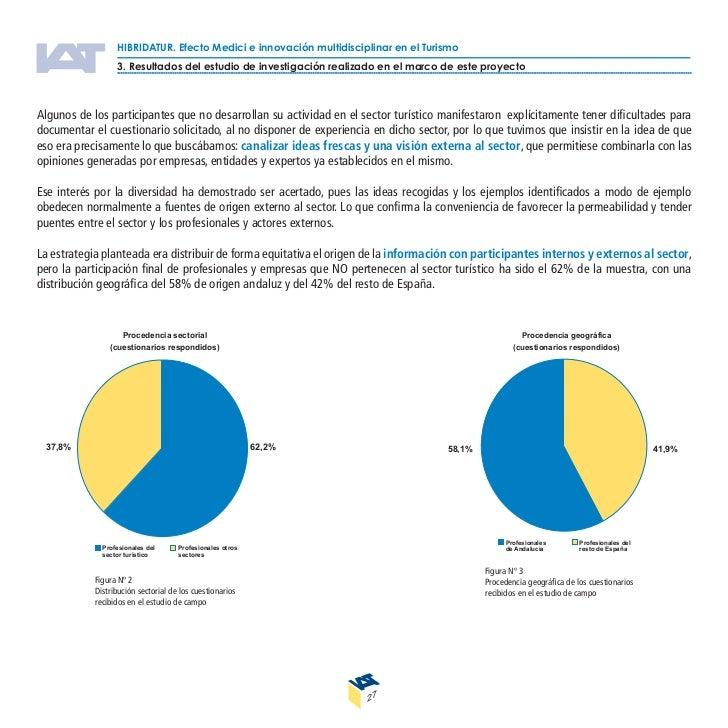HIBRIDATUR. Efecto Medici e innovación multidisciplinar en el Turismo                  4.Resultados del estudio de necesid...
