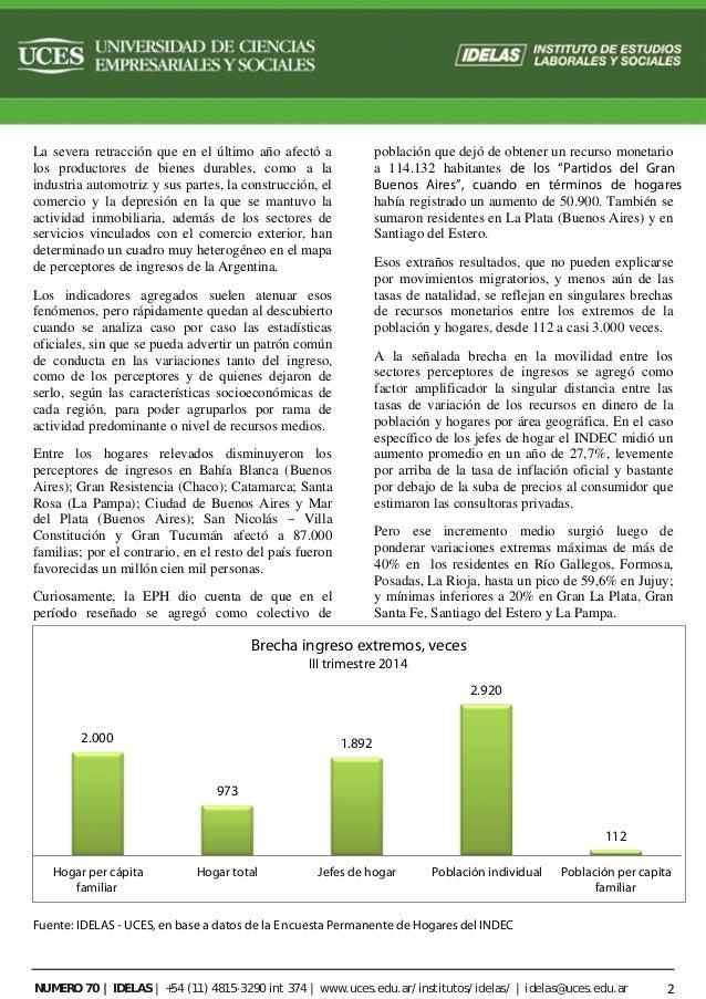 Hogares y poblaci n sin ingresos crecieron m s en t rminos for Exterior relativo