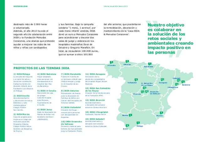Informe Anual 2013 Ikea Ibérica