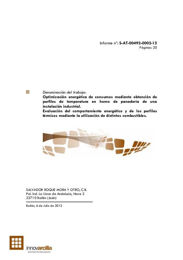 Informe nº: S-AT-00492-0002-12                                                              Páginas: 20           Denomina...