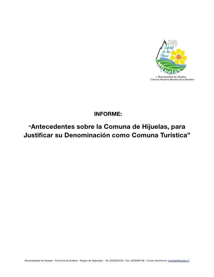 I. Municipalidad de Hijuelas                                                                                              ...