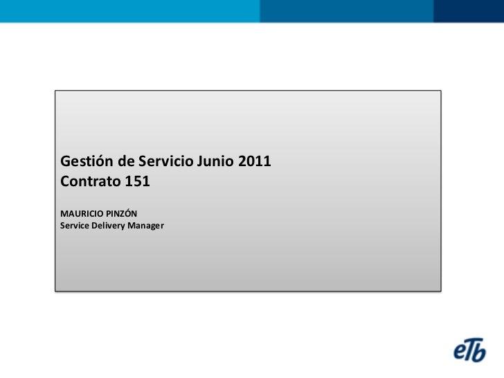 Informe Mesa De Ayuda Junio 2011