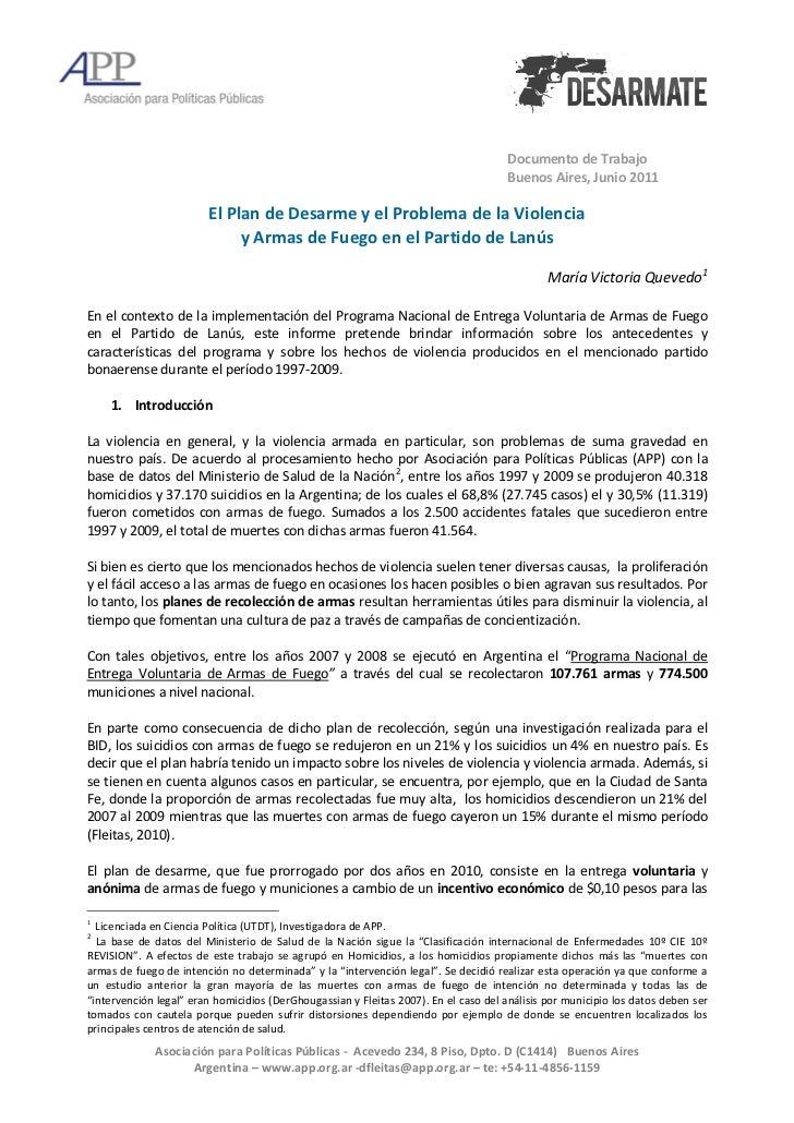 Documento de Trabajo                                                                                     Buenos Aires, Jun...