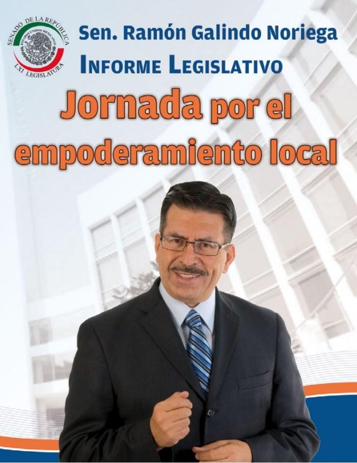 """Presentación                                                       """"La función legislativa exige constancia,              ..."""