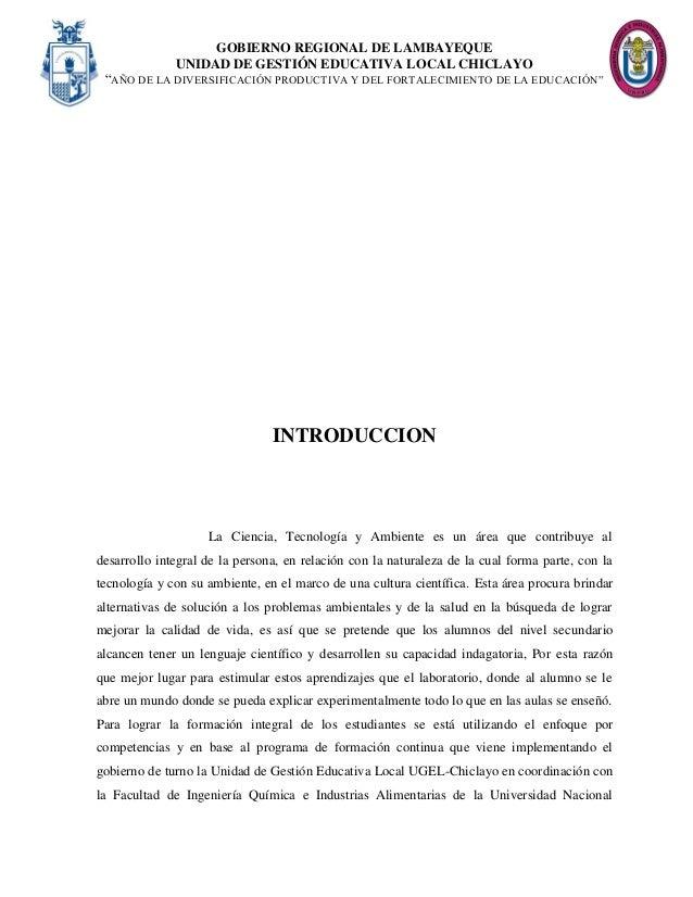 Informe Reconocimiento y uso de material y equipo de laboratorio