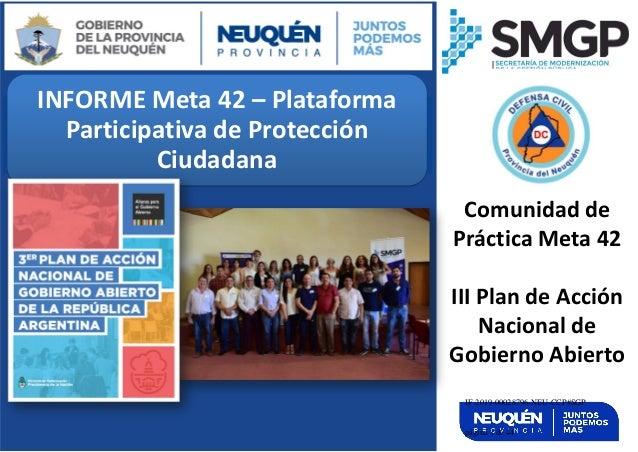 INFORME Meta 42 – Plataforma Participativa de Protección Ciudadana Video Instructivo Instalación Complemento Token para Fi...