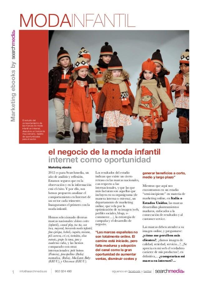 MODAINFANTILMarketing ebooks by                       El estudio del                       comportamiento de              ...