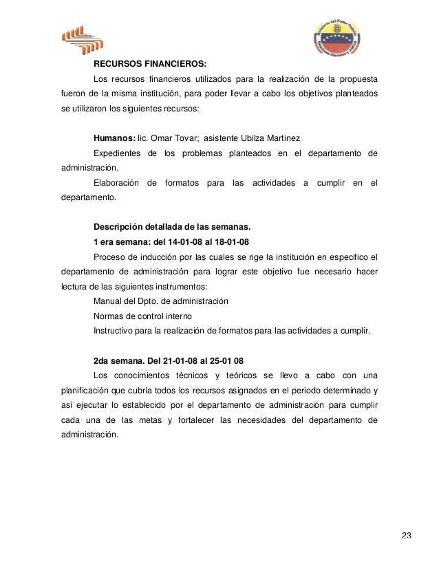 MODELO DE INFORME DE PASANTIAS UNELLEZ