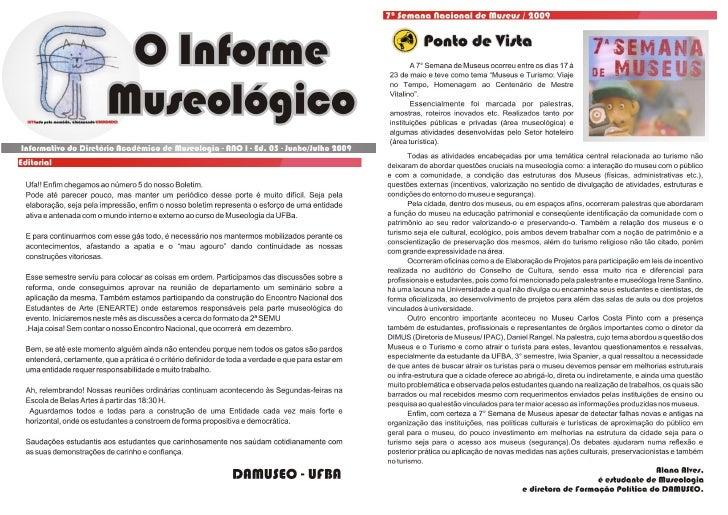Informe Museológico - Edição 05