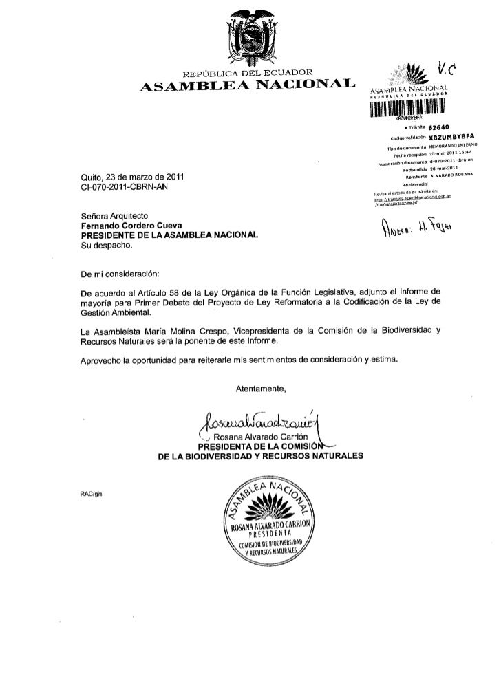 REPUBLICA DEL ECUADOR               ASAn/fBI.EA IYACIOI{AI-                                                               ...