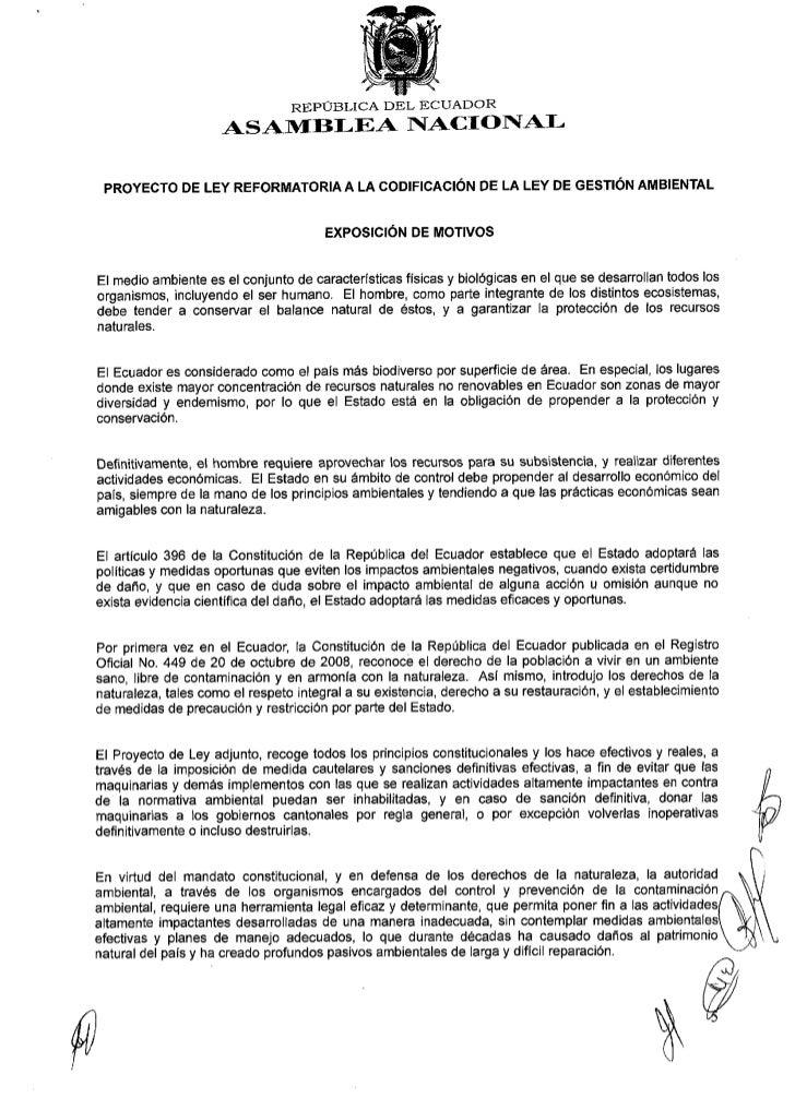 EL PLENO DE LA ASAMBLEA NACIONAL                                                 CONSIDERANDO: Que el numeral 7 del Artícu...