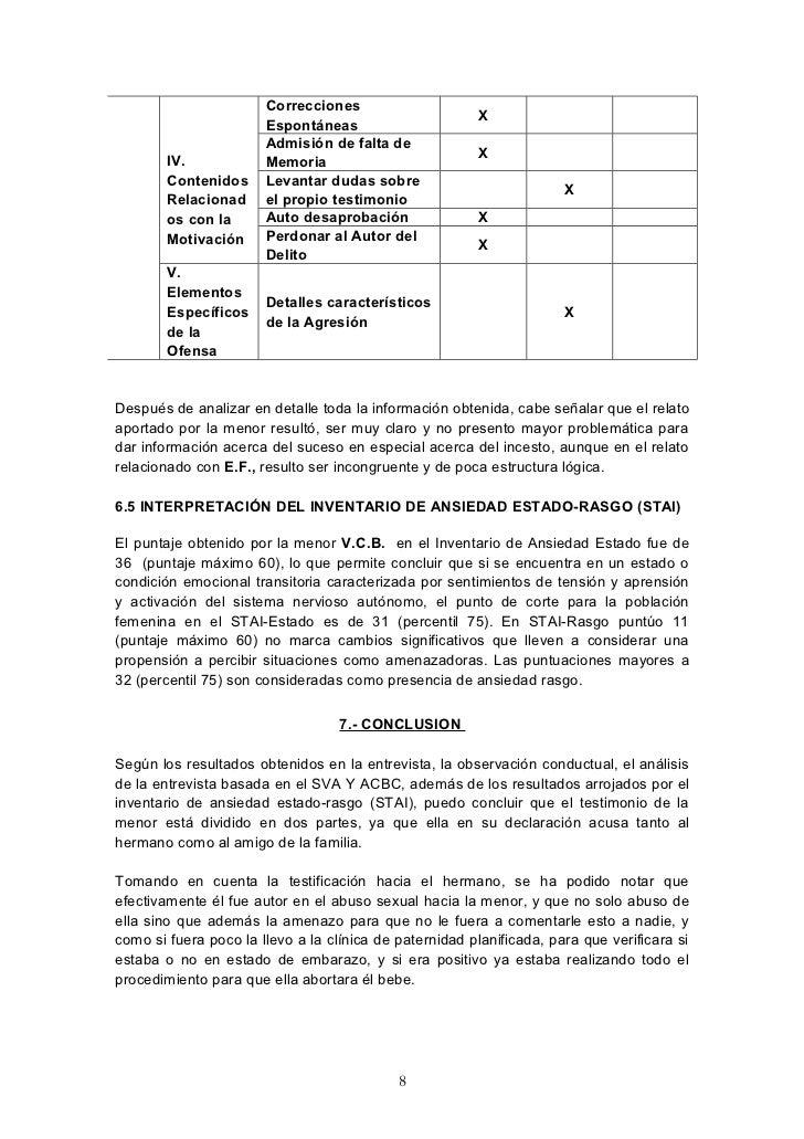 Correcciones                                                        X                       Espontáneas                   ...