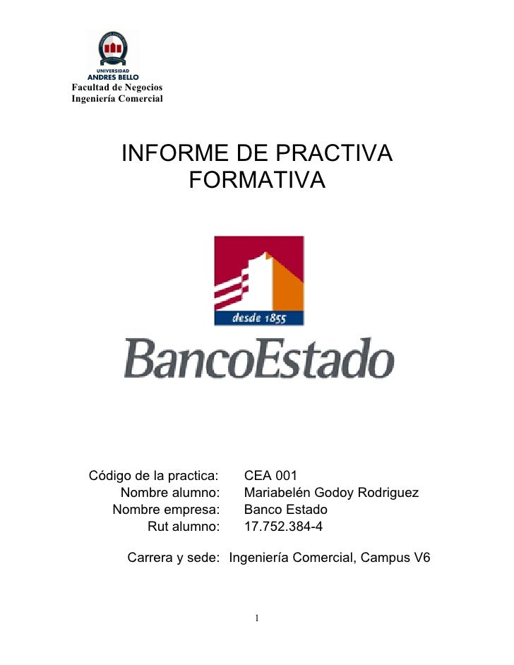 Informe practica for Que es practica de oficina
