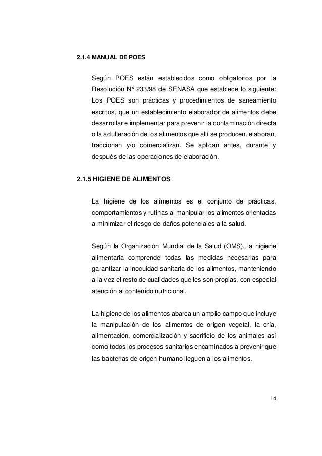 Informe practica de modulo de bebidas for Manual de procedimientos de alimentos y bebidas de un hotel