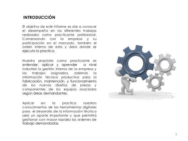 informe de una empresa pdf