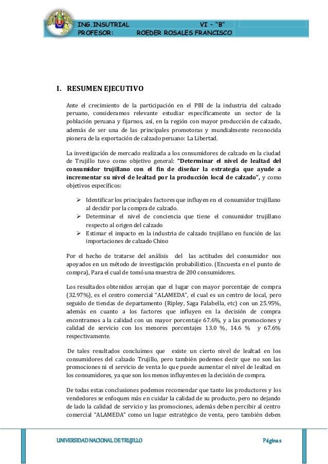 Informe Proyecto Investigacion De Mercados
