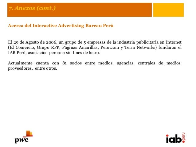 Iab per informe de inversi n publicitaria en internet - Internet advertising bureau iab ...