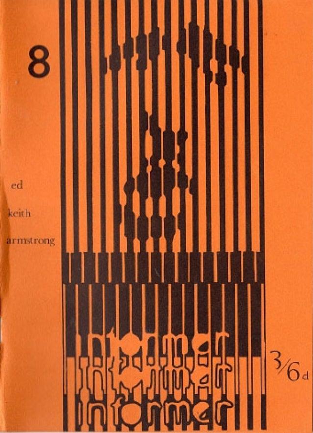 Informer   international poetry magazine no 8 - 1968