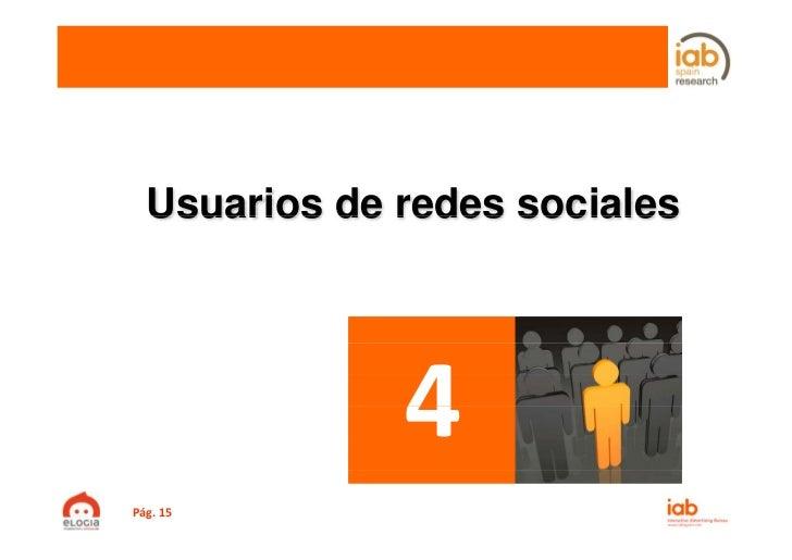 Usuarios de redes socialesPág.15