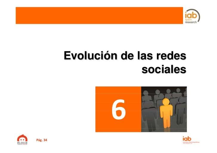 Evolución de las redes                        socialesPág.34