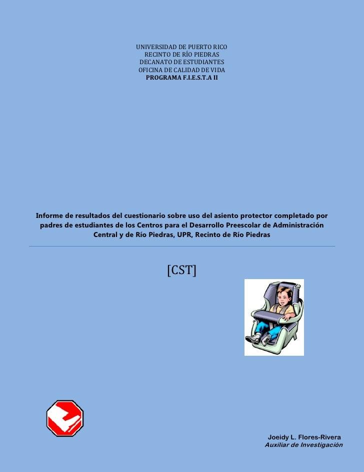 Informe resultados encuesta_asiento_protector_2010