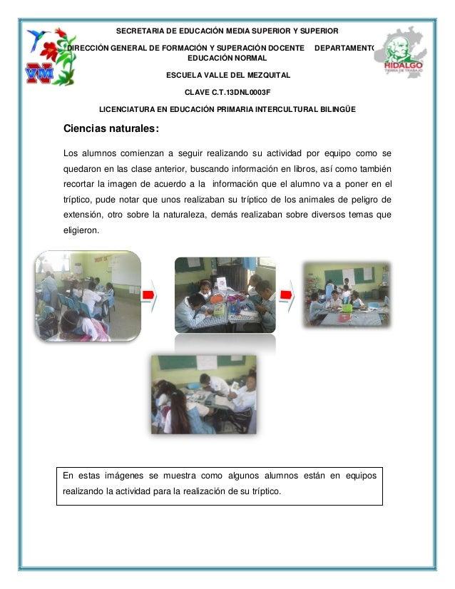 SECRETARIA DE EDUCACIÓN MEDIA SUPERIOR Y SUPERIOR DIRECCIÓN GENERAL DE FORMACIÓN Y SUPERACIÓN DOCENTE DEPARTAMENTO DE EDUC...