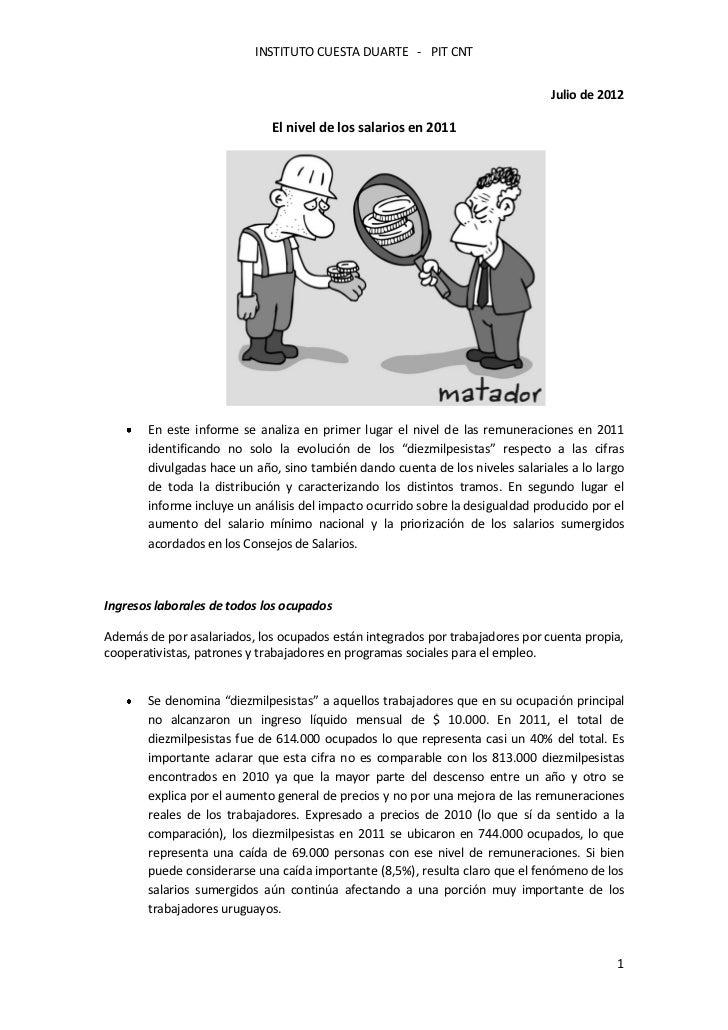 INSTITUTO CUESTA DUARTE - PIT CNT                                                                               Julio de 2...