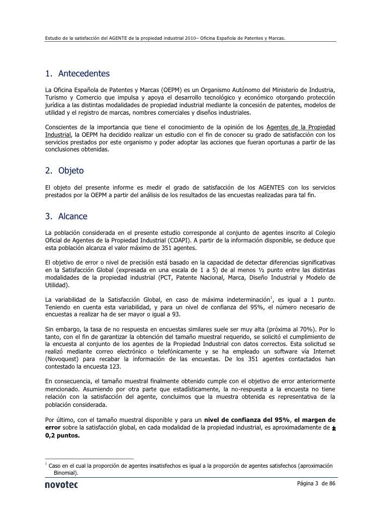 Informe satisfacción oepm agentes 2011 Slide 3