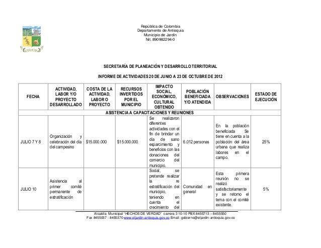 República de Colombia                                                                    Departamento de Antioquia        ...