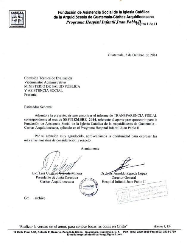 Amn Fundación de Asistencia social de la Iglesia Católica de la Arquidiócesis de Guatemala-Cáritas Arquidiocesana  Program...