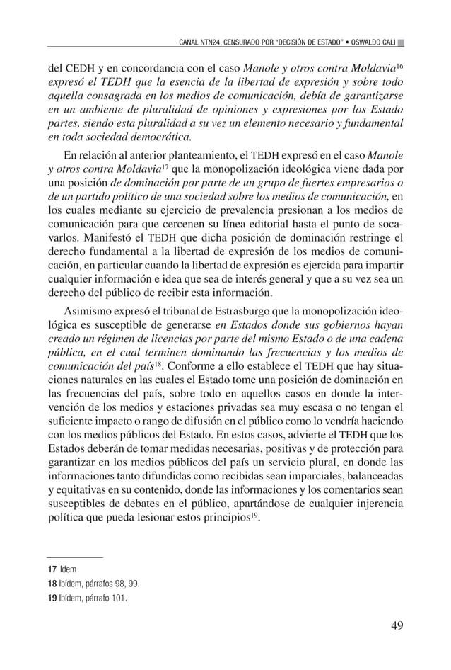 """51 La sombra roja en Internet Andrea Garrido1 E n ocasiones se percibe Internet como un """"mundo paralelo"""", un lugar inte- g..."""