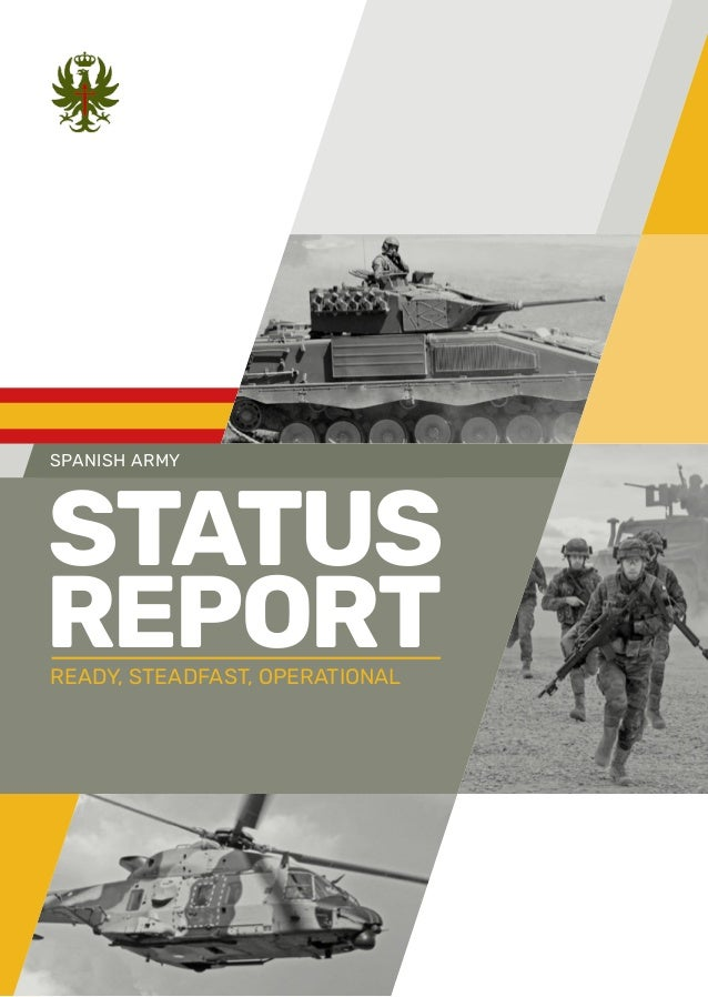 Spanish Army 2018 Status Seport