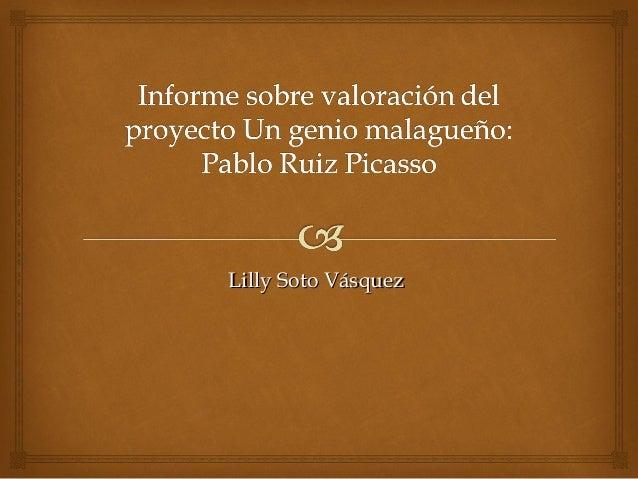 Lilly Soto VásquezLilly Soto Vásquez