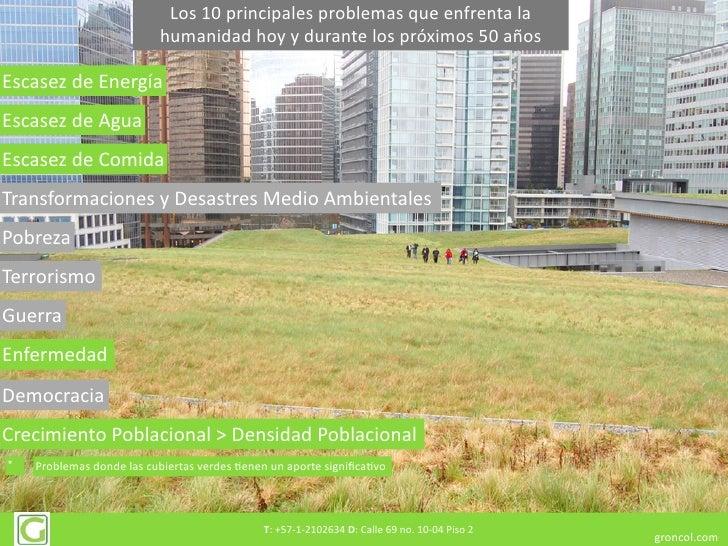 Beneficios de los Techos Verdes Slide 3
