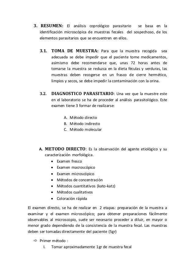 Coprologico Interpretacion Pdf