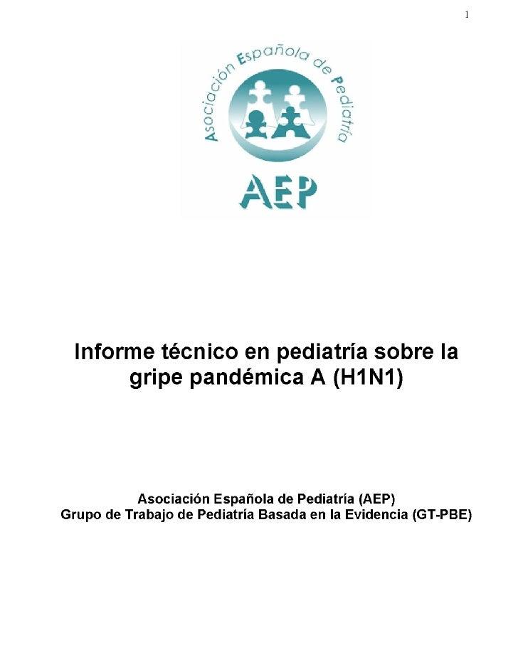 Informe Tecnico Gripe