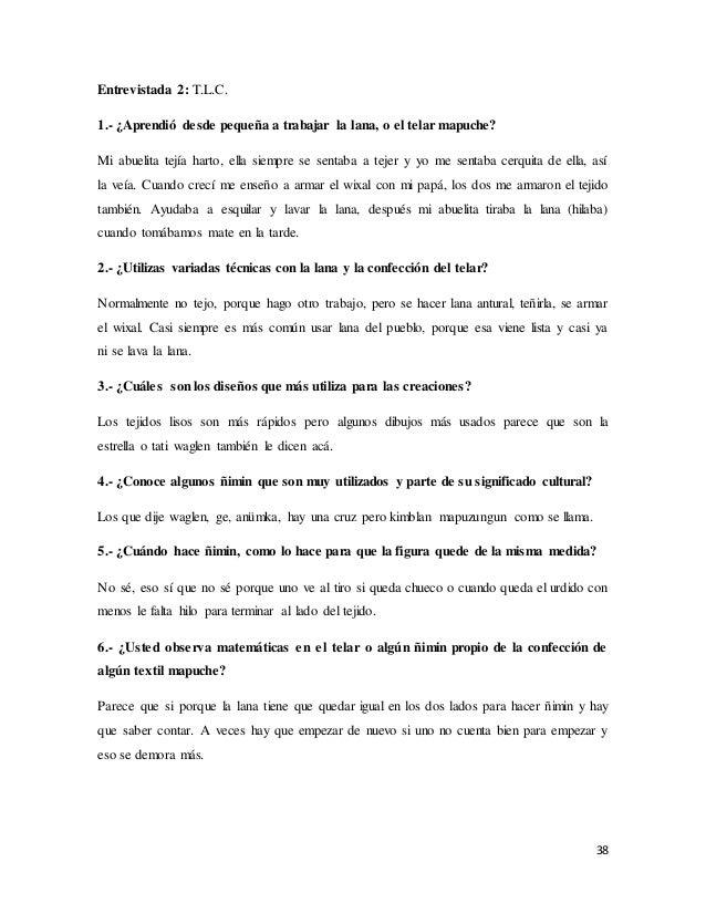 Telar mapuche y las Matemáticas